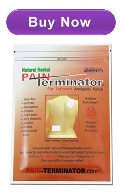 Natural Herbal Pain Terminator Far Infrared Analgesic ...